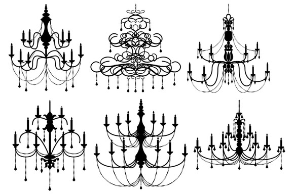 Chandelier Vectors And Clipart