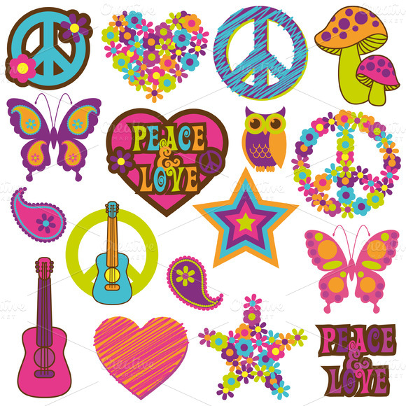 Retro 70 S Vectors And Clipart