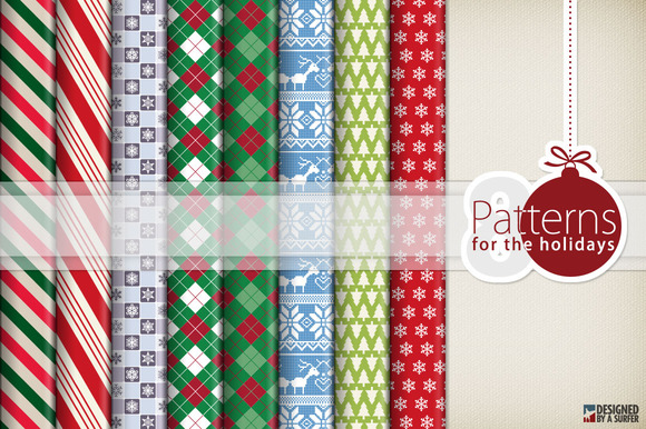 8 Holiday Patterns