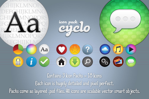 Cyclo Mega Icon Pack