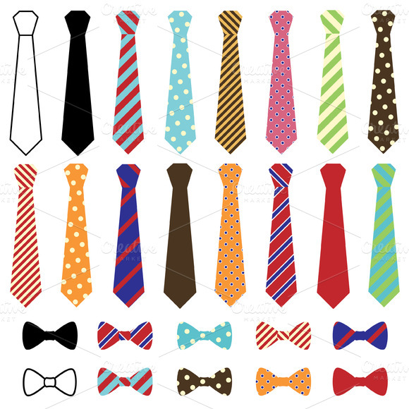 Ties Vectors And Clipart
