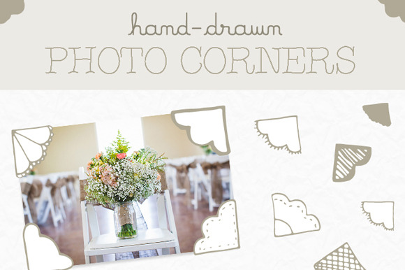 Hand-Drawn Photo Corners