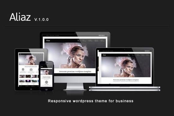 Aliaz Premium Responsive Wordpress