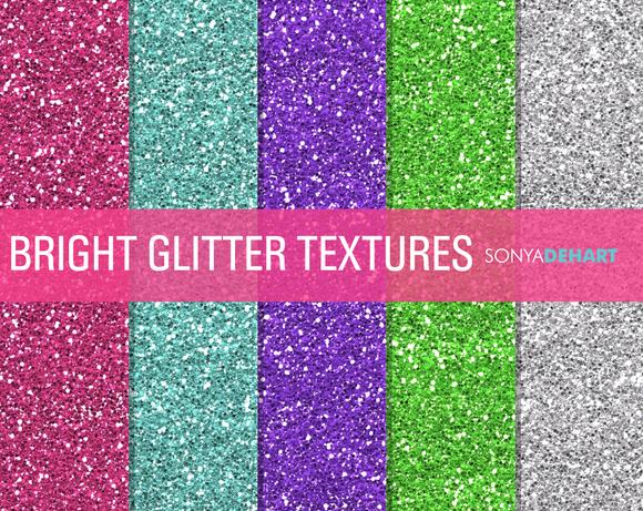 Bright Glitter Textures