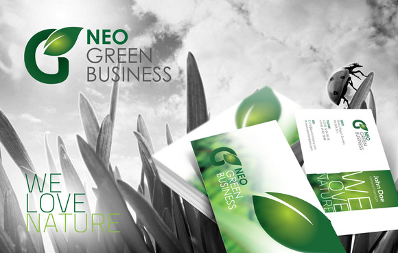 RW Green Business Corporate Identity
