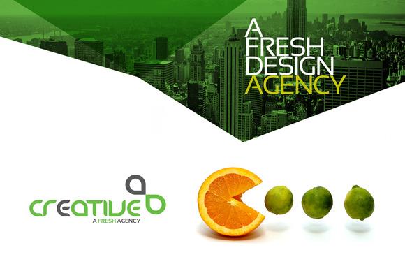 RW Creative Fresh Corporate Identity
