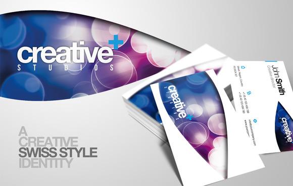 RW Creative Swiss Agency Identity