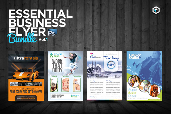RW Essential Business Flyers Vol 1