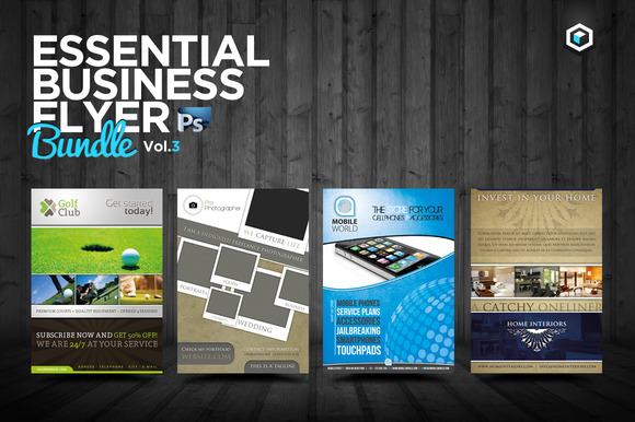 RW Essential Business Flyers Vol 3