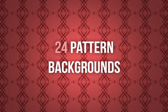 24 Pattern Backgrounds