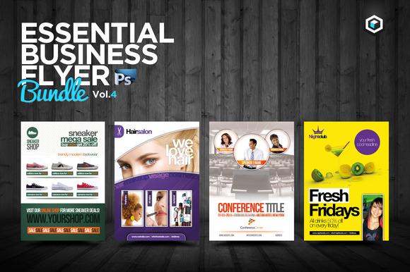 RW Essential Business Flyers Vol 4
