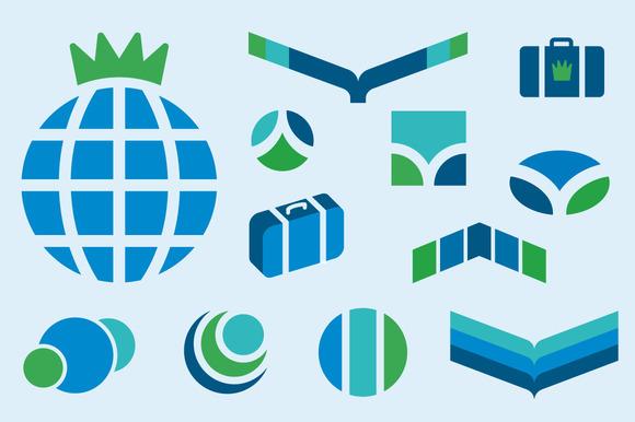 Travel Icons Kit