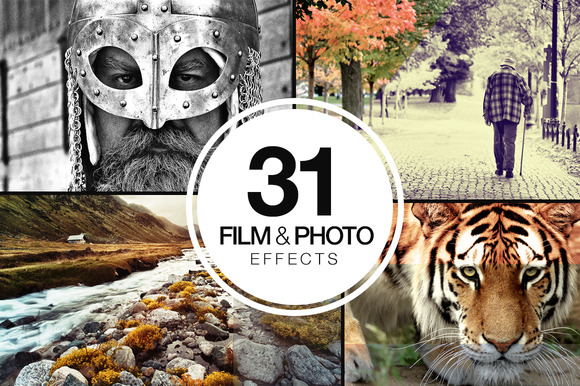 31 Film Photo Actions