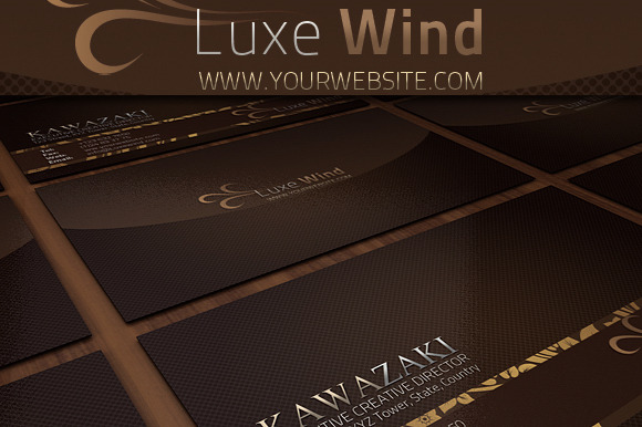 Luxe Wind Businesscard