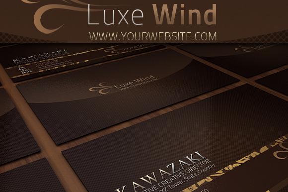 Luxe Wind Businesscard