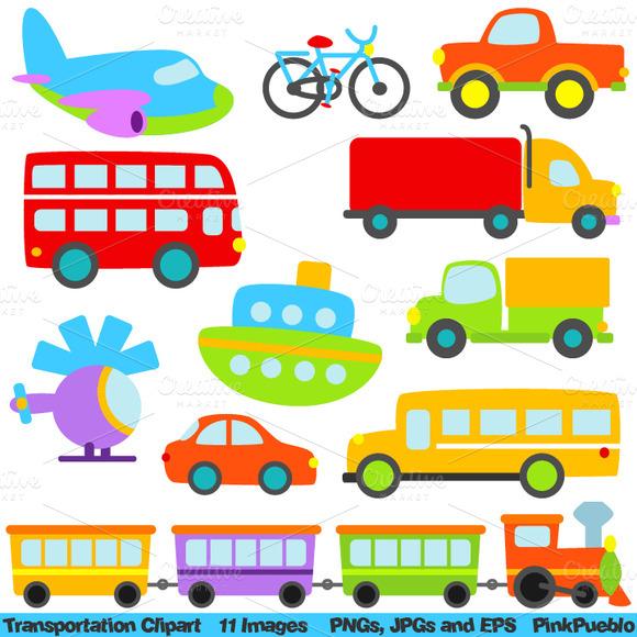 Transportation Vectors And Clipart