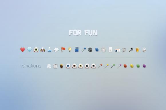For Fun Icon Set