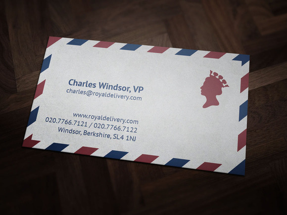 Royal Delivery Business Card