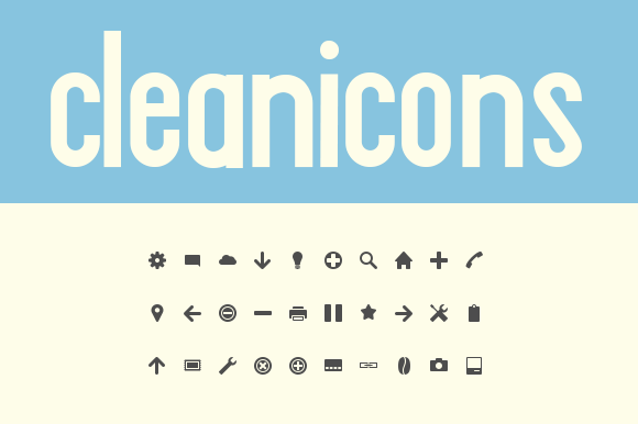 Cleanicons