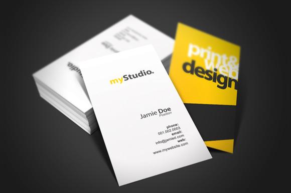 Studio Card