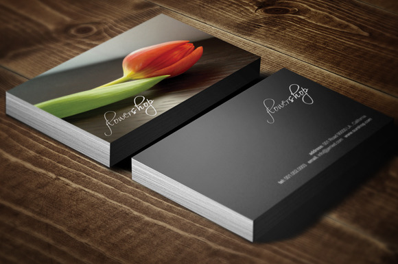 FlowerShop Card