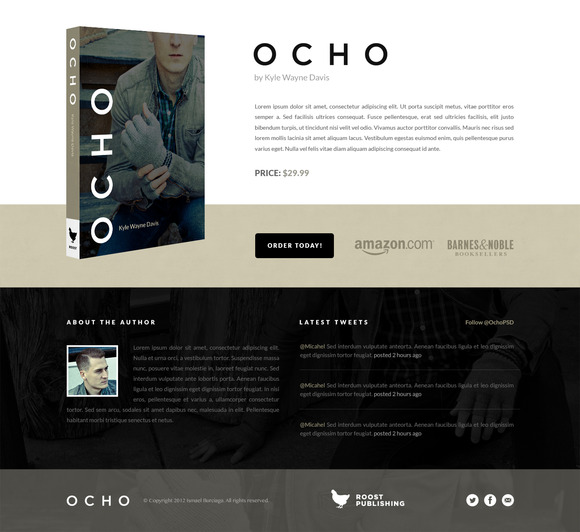 Ocho The Book Non-Retina