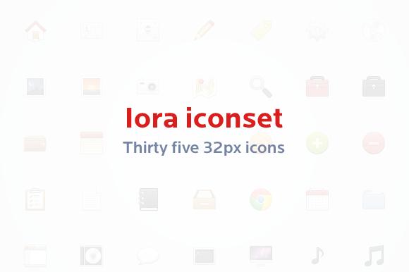 Iora Icon Set