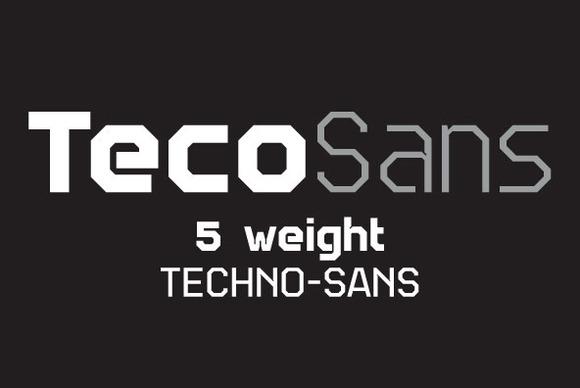 Teco Sans Complete