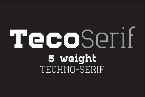 Teco Serif Complete