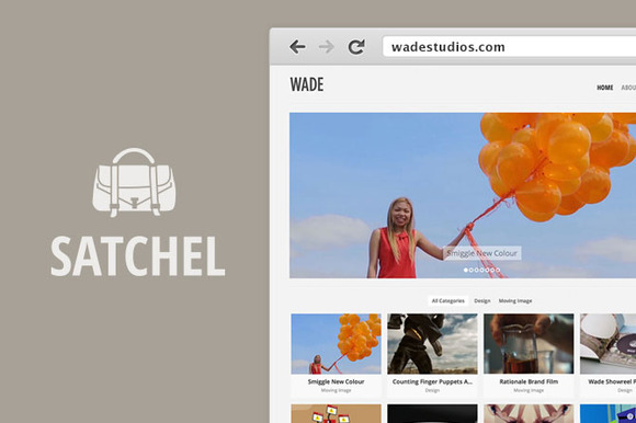 Satchel Wordpress Theme