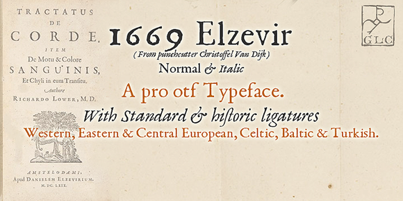 1669 Elzevir OTF