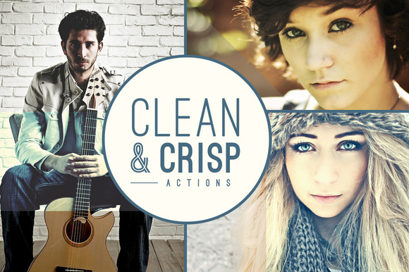 Clean Crisp Photo Actions