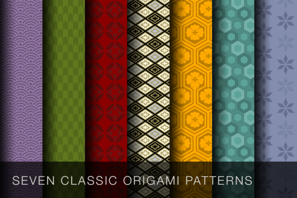 Seven Classic Origami Patterns