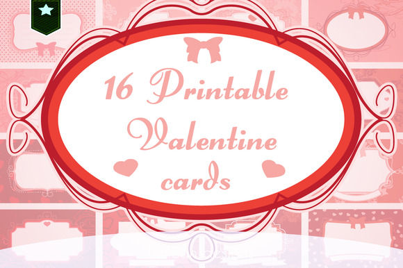 Cute Printable Valentine Cards