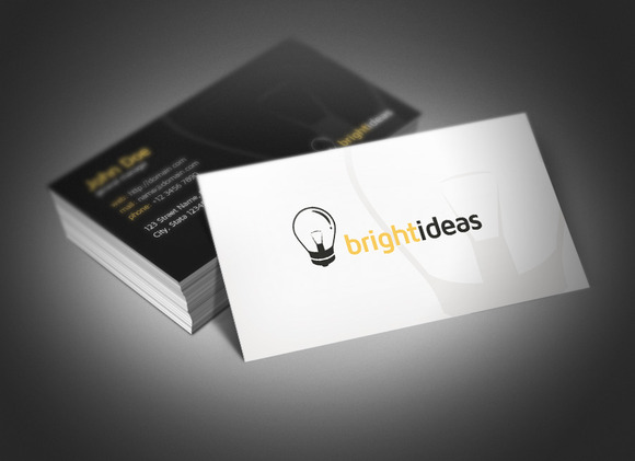 Bright Ideas Business Card