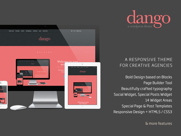 Dango Creative Responsive Wordpress