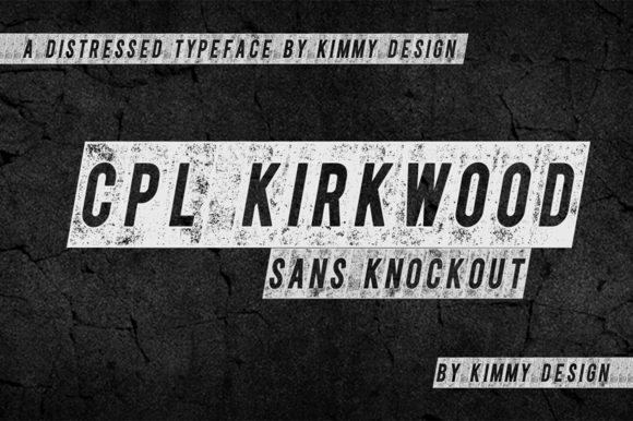 CPL KIRKWOOD SANS KNOCKOUT