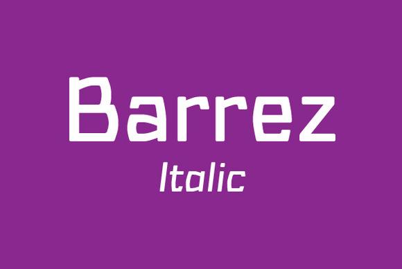 Barrez Regular Italic