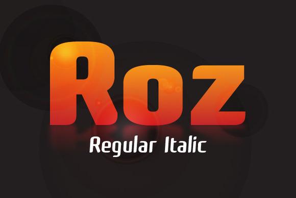 Roz Regular Italic