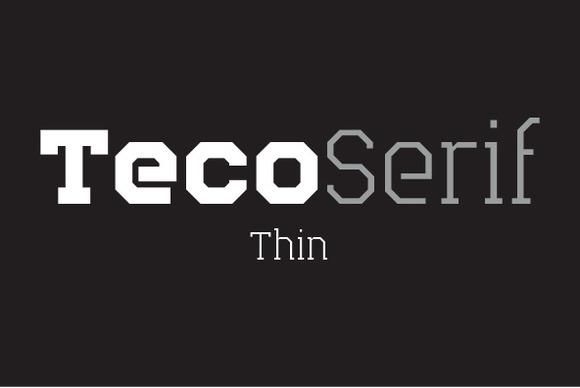 Teco Serif Thin