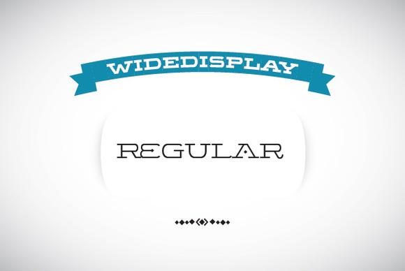 WideDisplay Regular