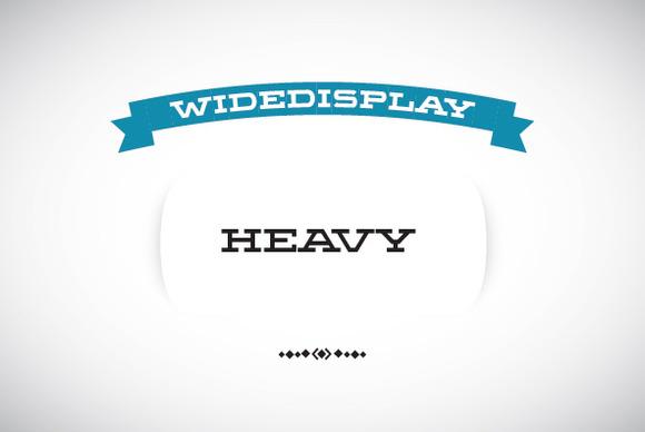 WideDisplay Heavy