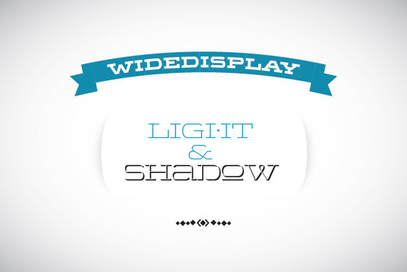 WideDisplay Light Shadow