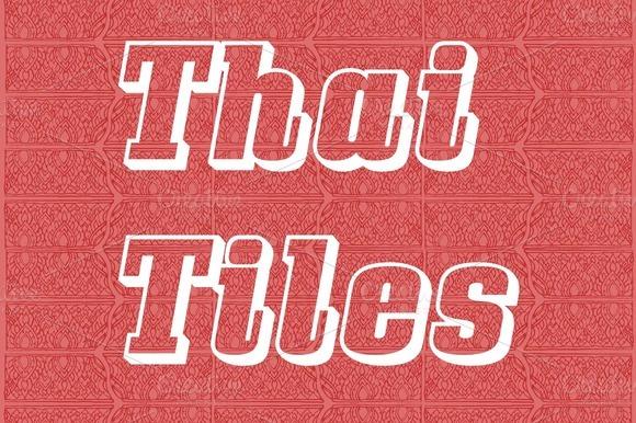 Thai Tiles