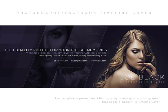 Photographer Facebook Timeline Cover