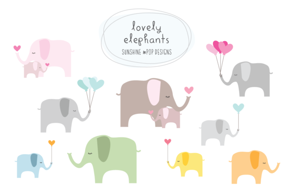 Lovely Elephants