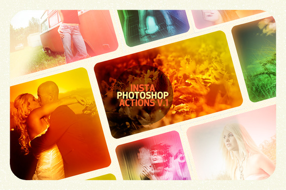 Insta Photoshop Actions V.1