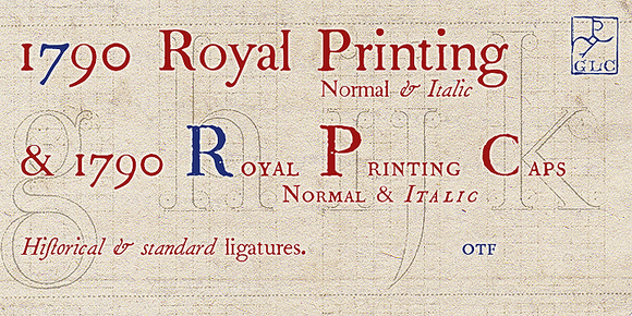 1790 Royal Printing OTF