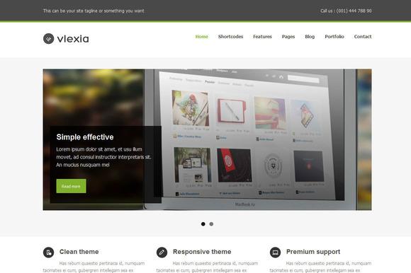 Vlexia Clean Wordress Theme
