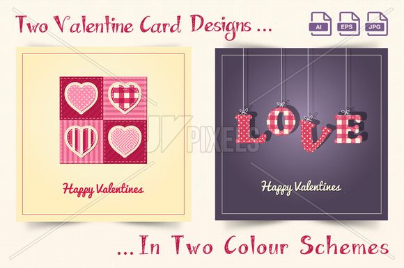 Valentines Day Card Designs